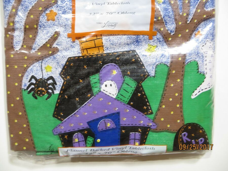 "*SAMPLE SALE* HALLOWEEN LARGE HOUSE FLAG WITCH ON BROOM 28/"" X 40/"""