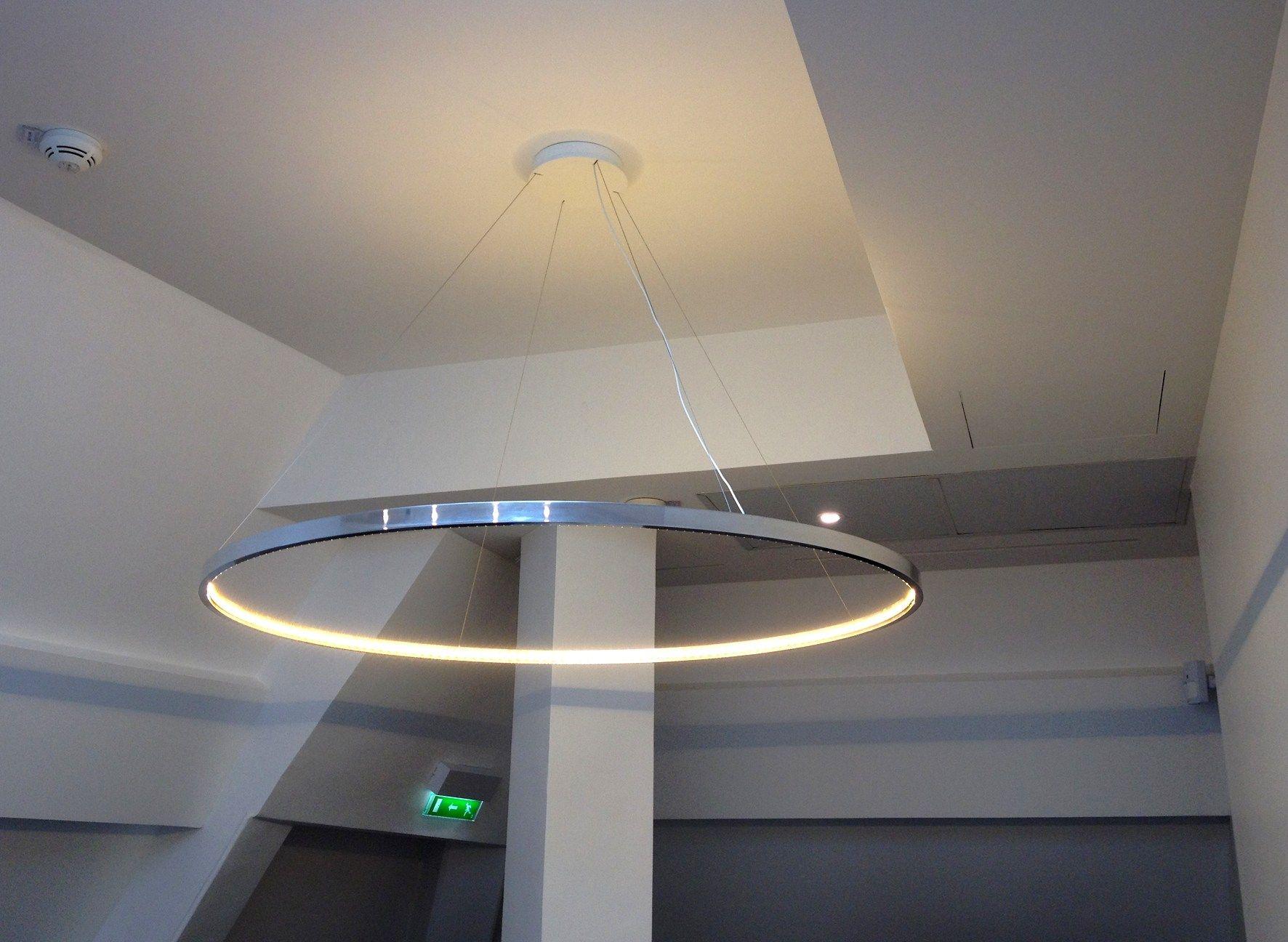 Led Direct Indirect Light Pendant Lamp Omega 120 By Le Deun Luminaires Pendant Lamp Pendant Lighting Indoor Lighting