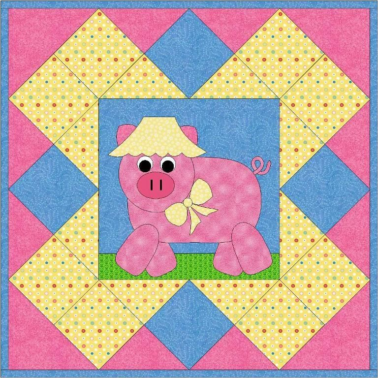 A fast, fun, fusible applique project. Templates are reversed and ready to trace. Includes full sized placement guide sheets.
