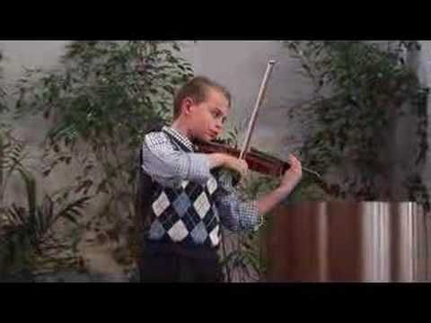 Haydn Violin Concerto Sebastian Carrasco 10 Years Old Violin Haydn 10 Year Old