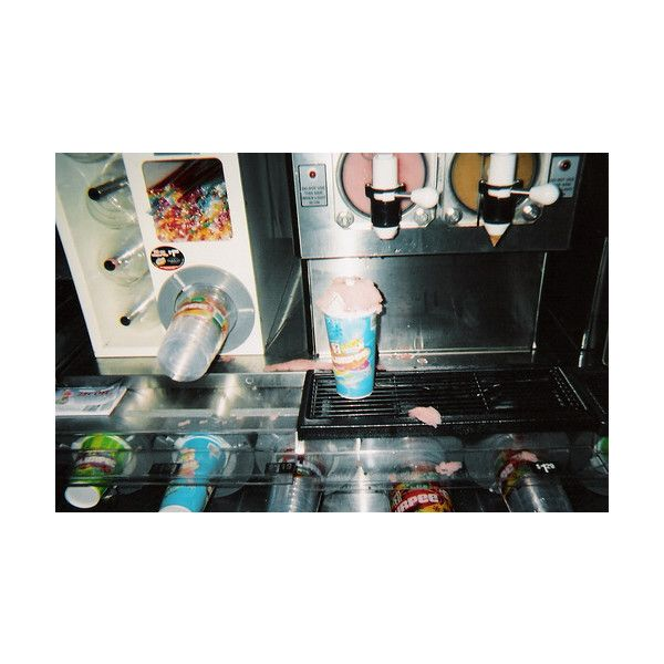 slurpee // slush | Tumblr ❤ liked on Polyvore featuring pictures, backgrounds, photos, food and fotos