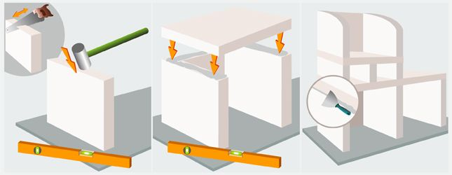 construire un barbecue en b ton cellulaire barbecue. Black Bedroom Furniture Sets. Home Design Ideas