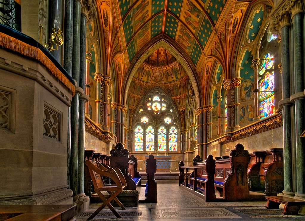 Saint Mary's Church - Studley Royal - Yorkshire