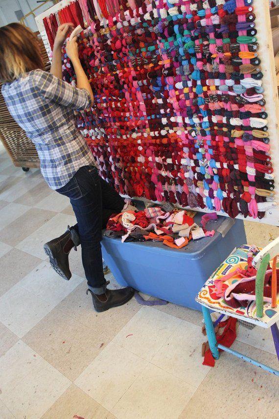 Tutoriel PDF – Tapis, tisser un tapis manique, recycler vos vêtements …   – DIY Events