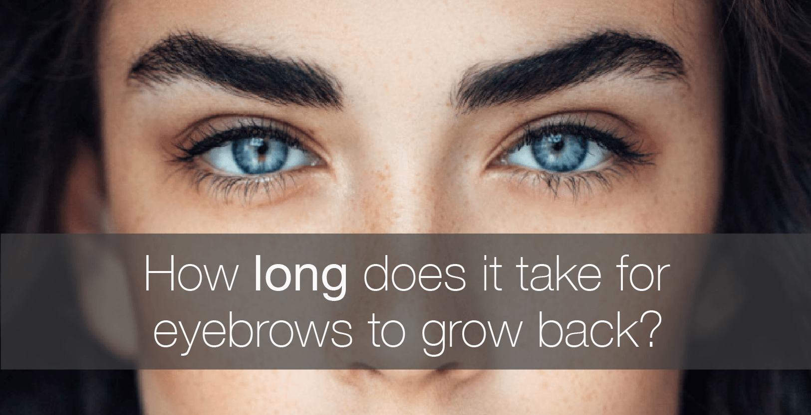 UPDATED: How Long Does It Take for Eyebrows to Grow Back ...