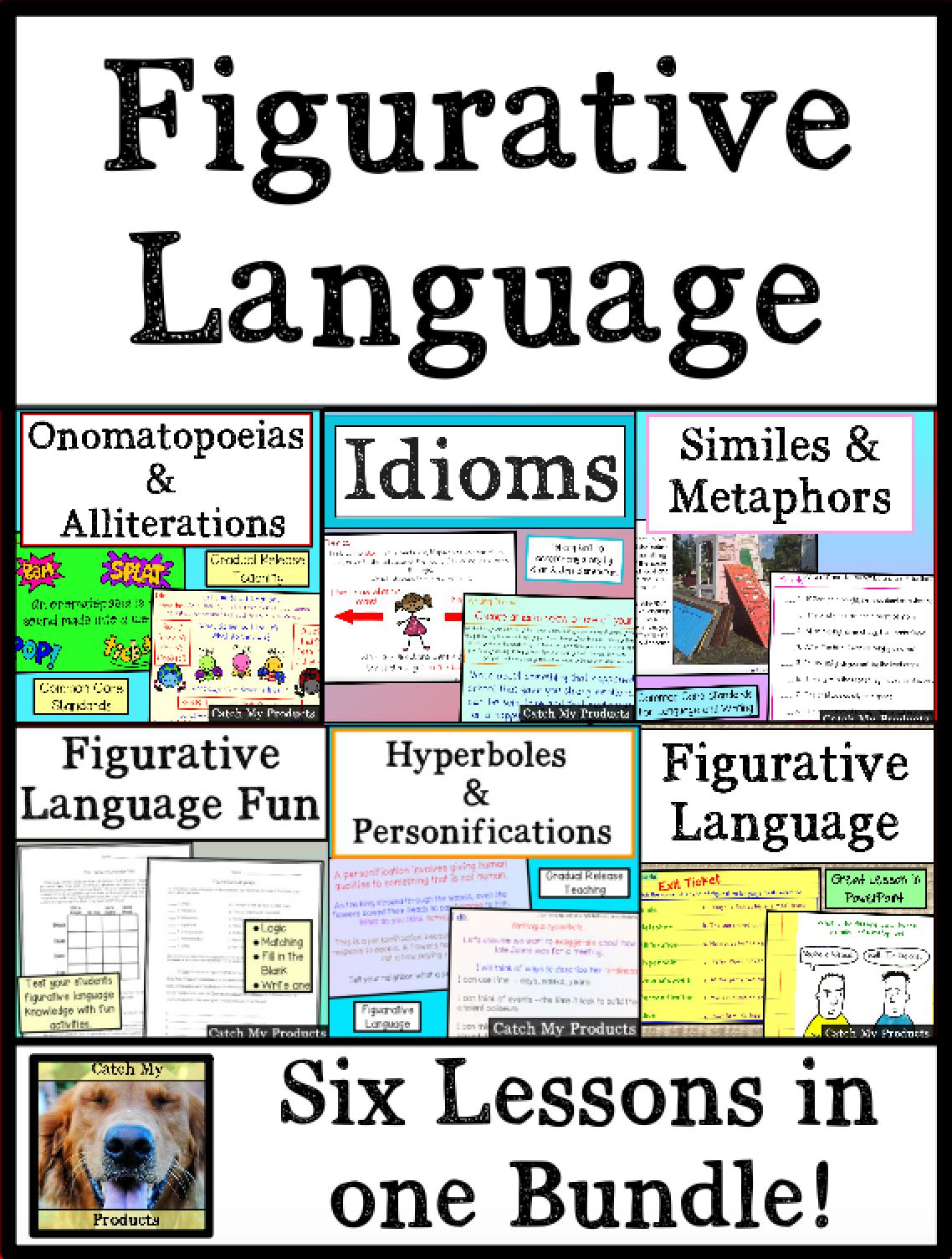 Figurative Language Lesson Plans Powerpoint