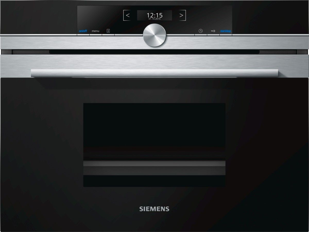 Siemens Cd634gbs1b Built In Steam Oven Steam Oven Compact