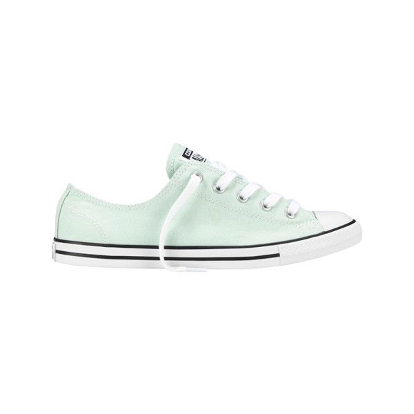 4006eee2de08 Women s Converse Chuck Taylor All Star Dainty Ox - Mint... ( 55) ❤ liked on  Polyvore featuring shoes