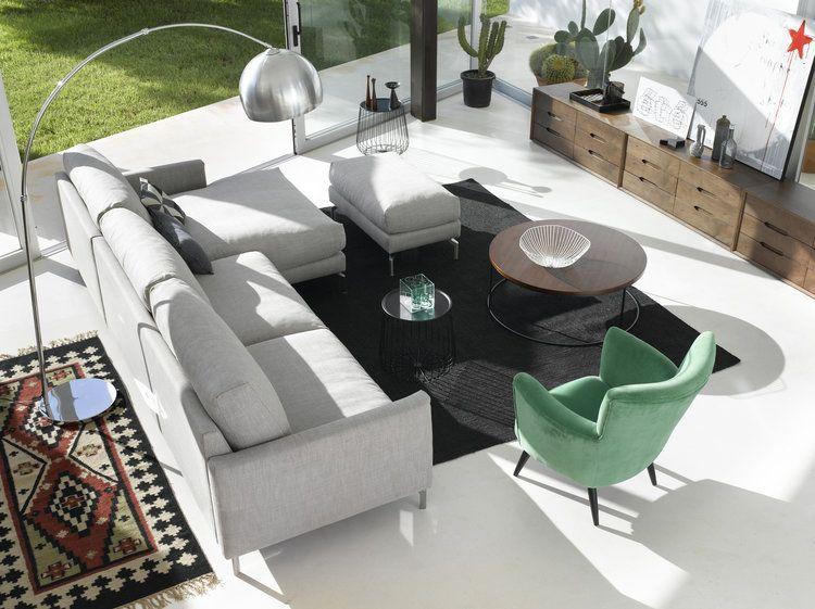 Epingle Par Greenye Sur Home Canape Angle Deco Canape Blanc Mobilier De Salon