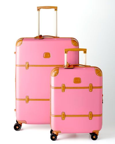 Pink Luggage { for the girly girl } | { Deck the Halls ...