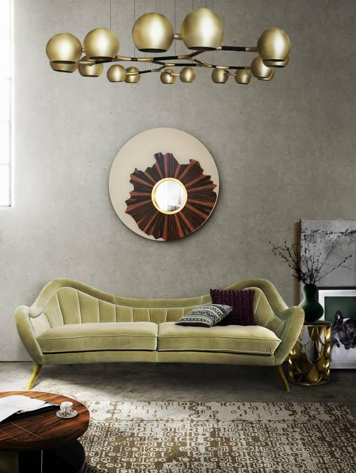 stylisch dekoration aus messing und holz design möbel von @brabbu - design mobel wohnzimmer