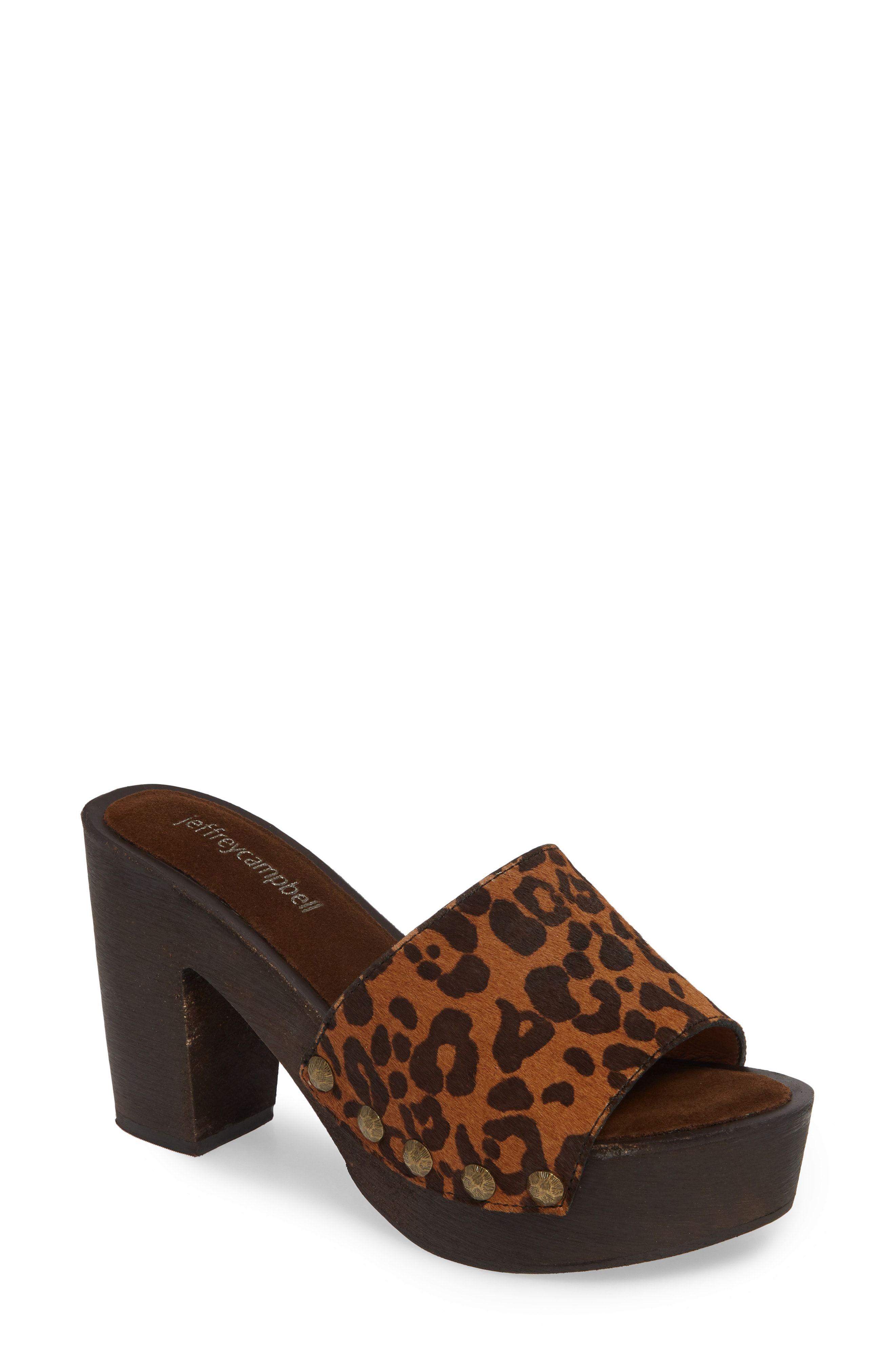 a4a1413b05 JEFFREY CAMPBELL D-LIGHT GENUINE CALF HAIR PLATFORM SANDAL.  #jeffreycampbell #shoes