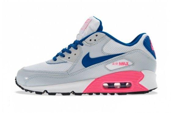 nike air max blue laces