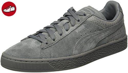 Schuhe Puma Suede Classic Casual Emboss rot