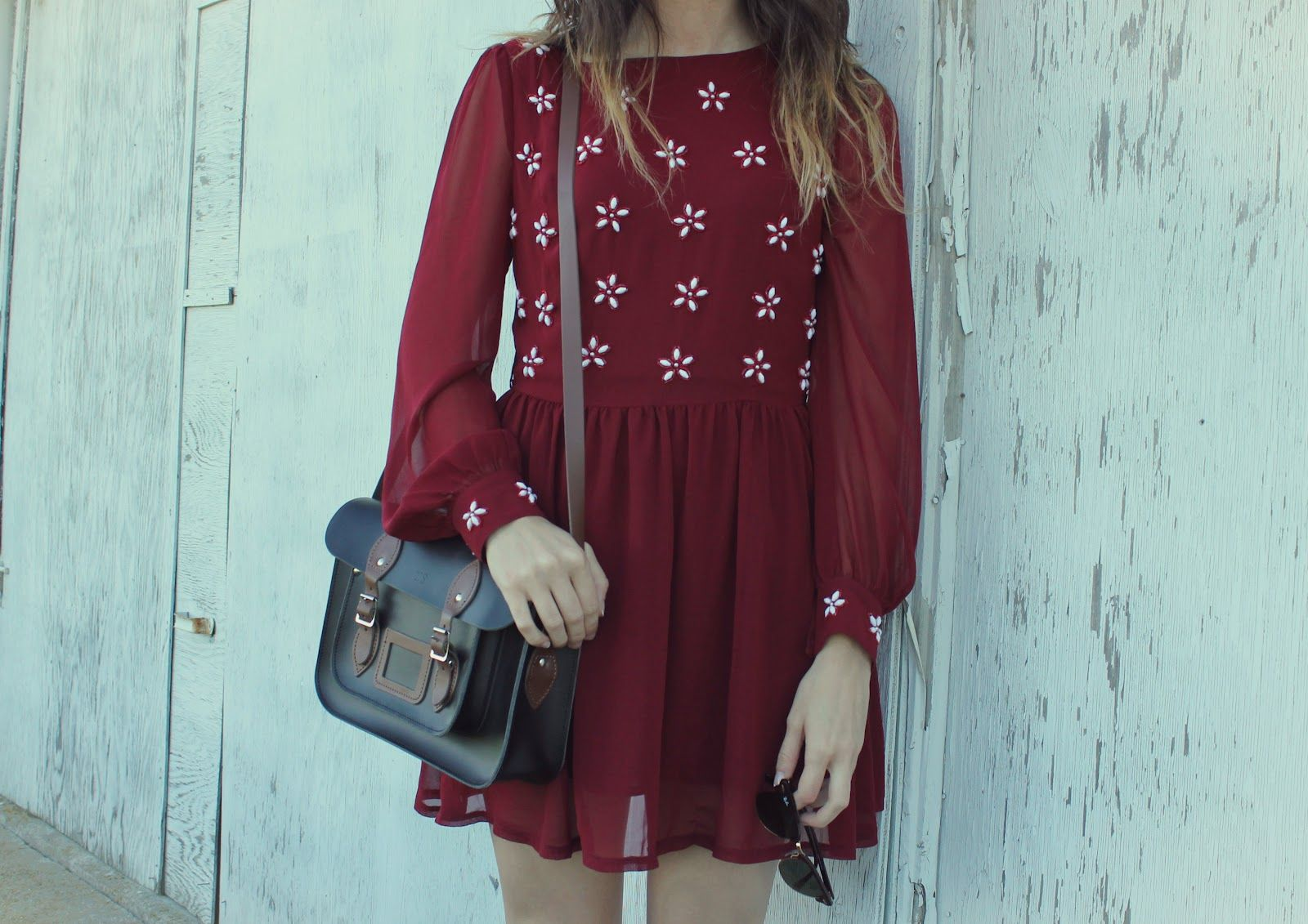 Long sleeves short length absolutely love this dress perfect for
