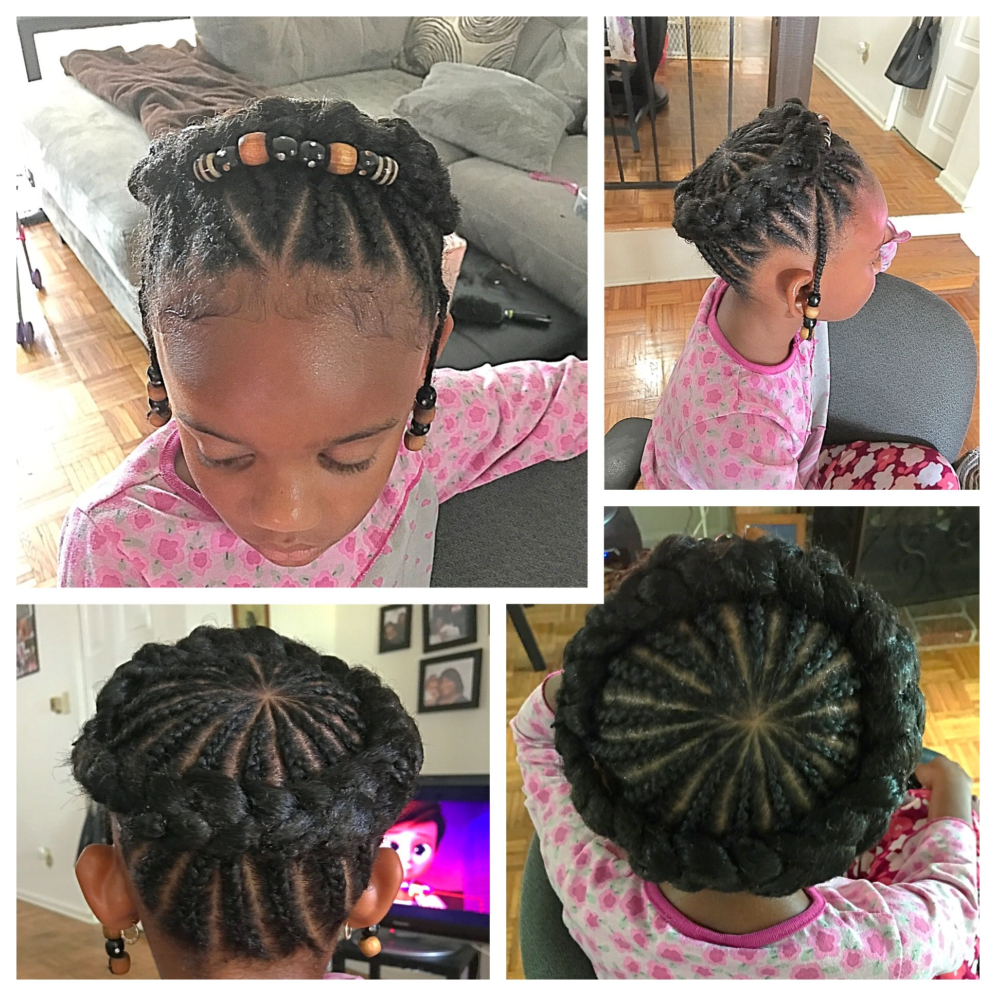 Pin by Takeasha Parker on Hair  Pinterest  Kid hairstyles Girl