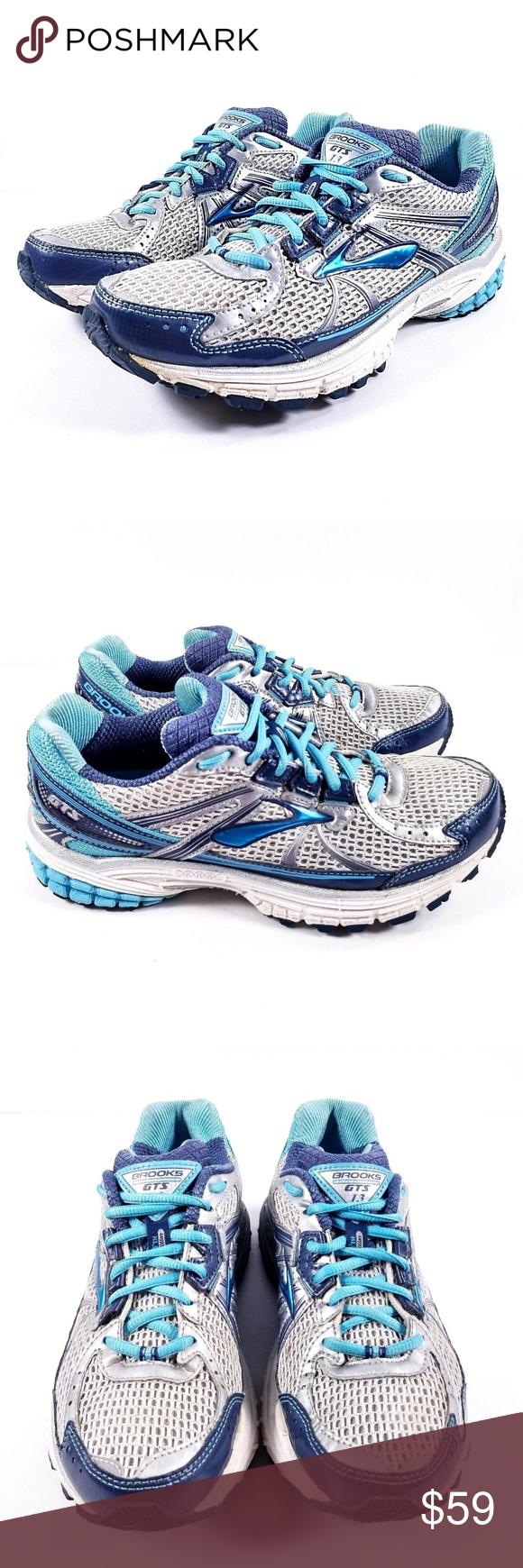 bc6b6feddb8b5 Brooks Adrenaline GTS 13 Running Shoes Brooks Adrenaline GTS 13 Running  Shoes Gray   Blue Women s