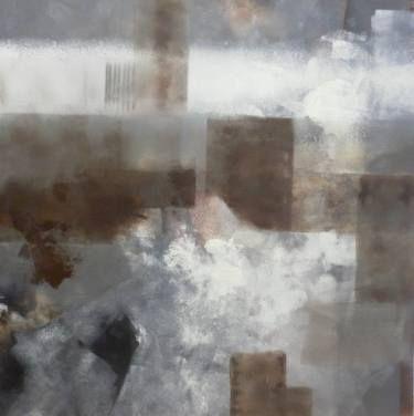 composition gris blanc brun