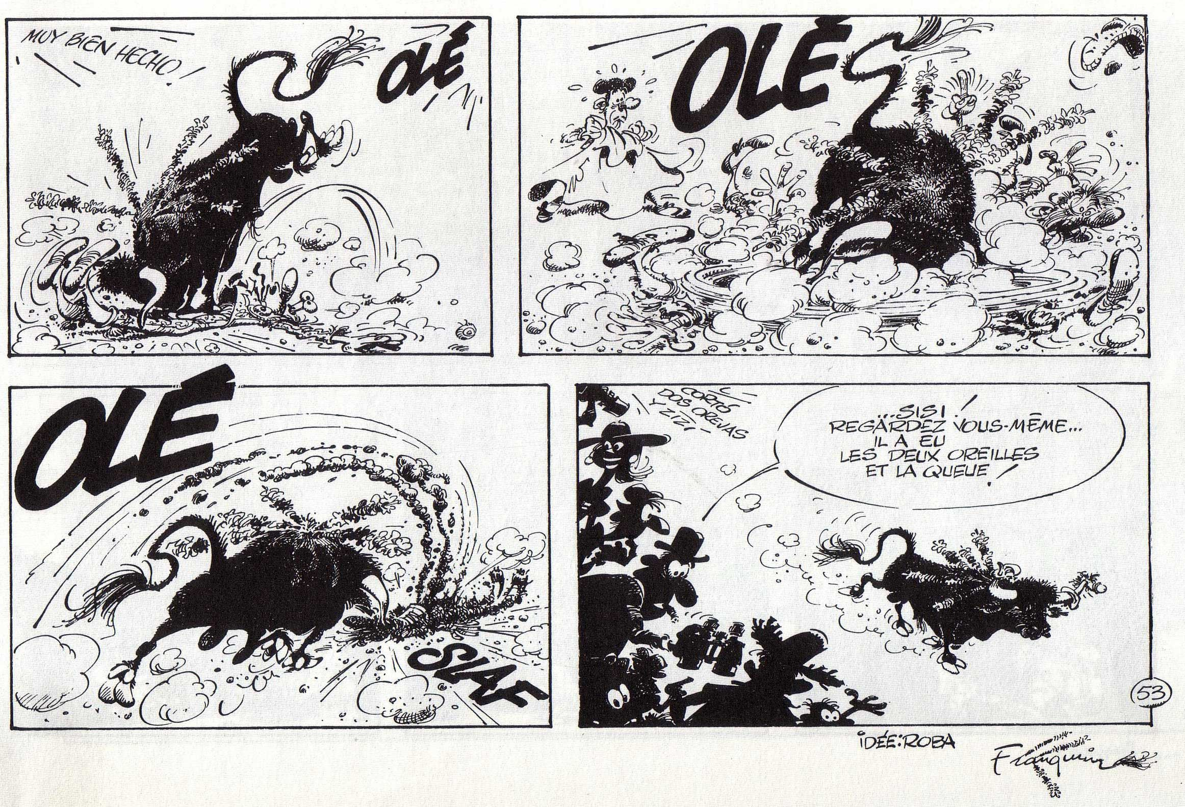Franquin- Idees Noires | Corrida, toros, anti-corrida | Pinterest | Search and Comic