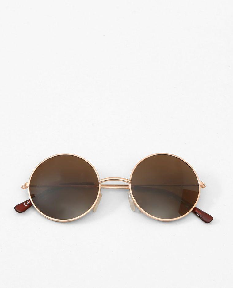 Lunettes de soleil rondes doré   Style   Pinterest   Maje, Eyewear ... 03269f7ffc4f