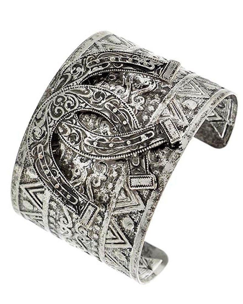 Horseshoe Cuff Bracelet