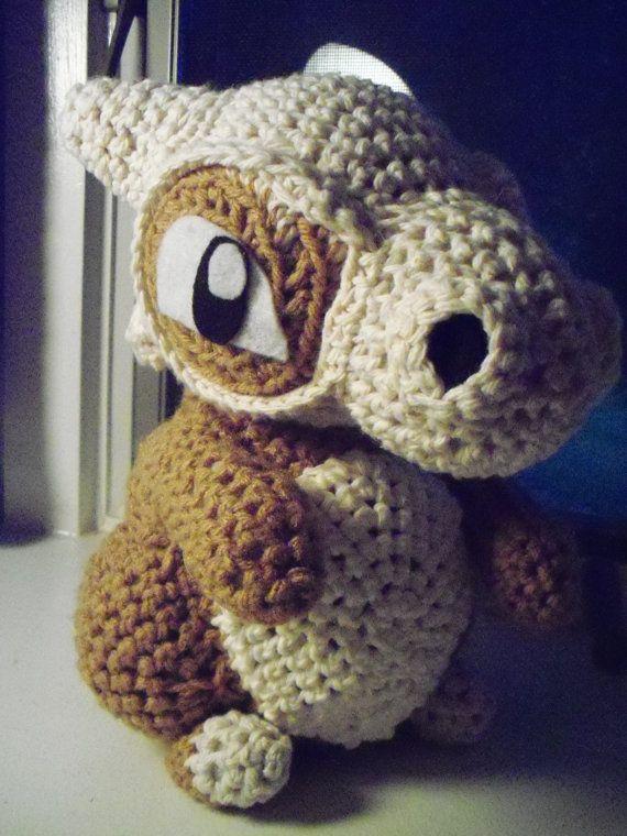 Cubone Amigurumi Crochet Pokemon Doll | Patrones amigurumi, Patrón ...