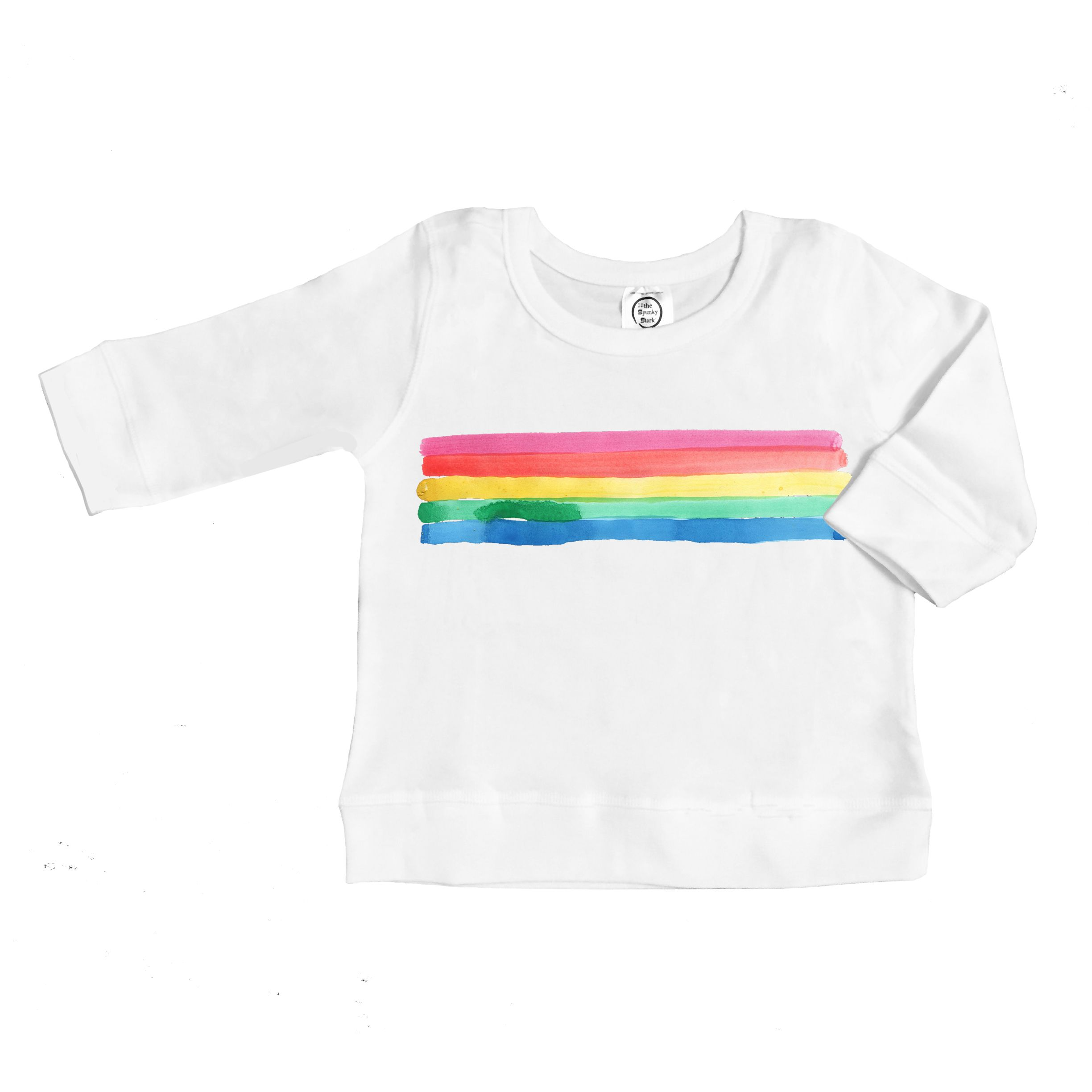 aae1ddc0 Rainbow Pride Long Sleeve Baby Toddler Pullover Sweat Shirt Sweater ...