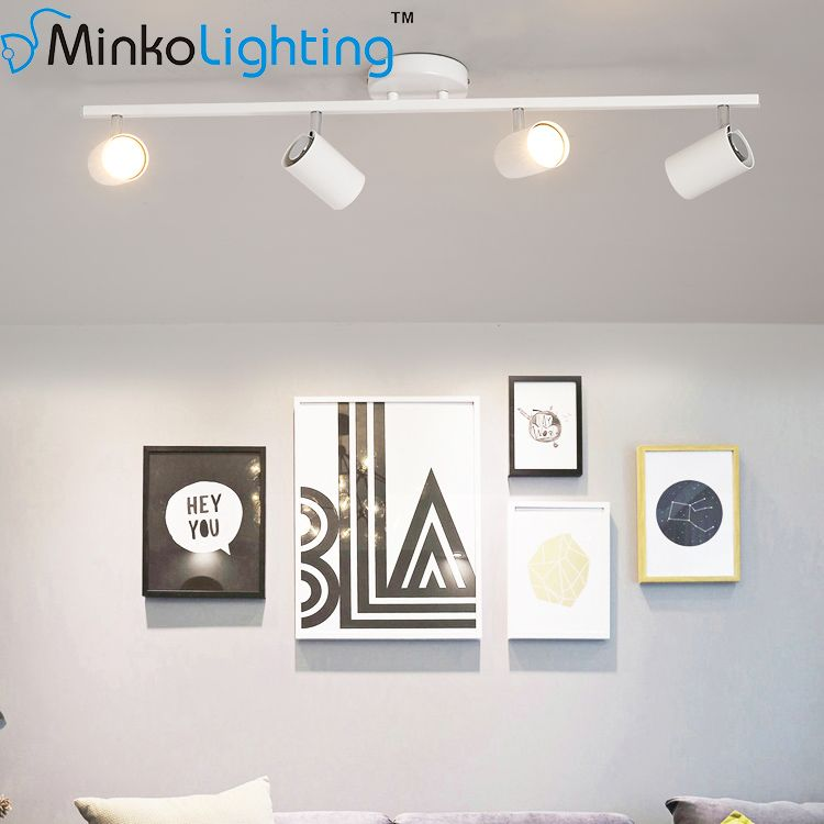 Nordic Living Room Wall Mounted Track Small Spotlight Led Home Small Spotlight Homes Led Home Light Spotlig Nordic Living Room Small Spotlights Nordic Living