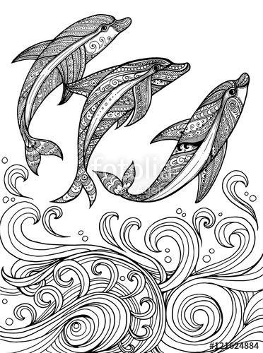 ocean waves coloring pages for adults - Pinarkubkireklamowe
