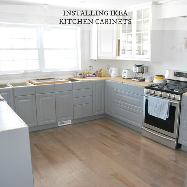 installing IKEA kitchen cabinetry: our experience | Kitchen ...