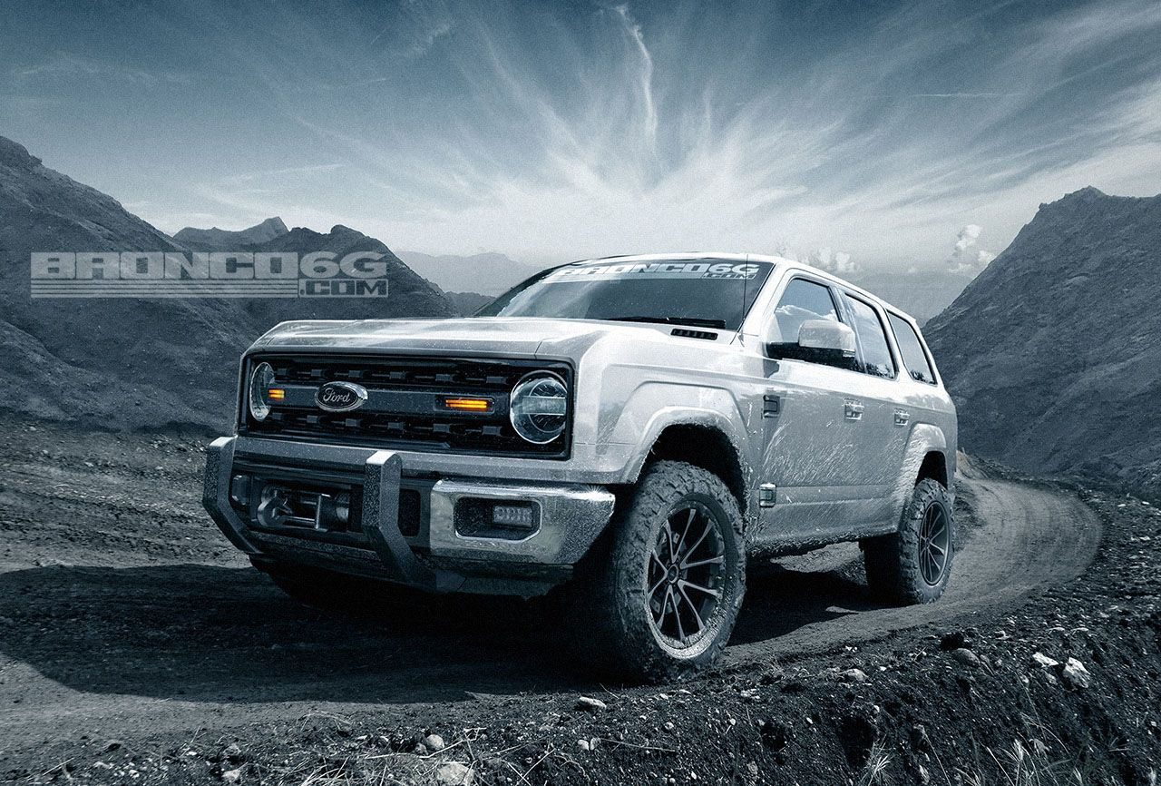 Ford Bronco Project Designed With Four Door Body Style If We Do