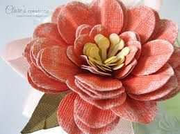 how to make stiff camellia flower - Google Search