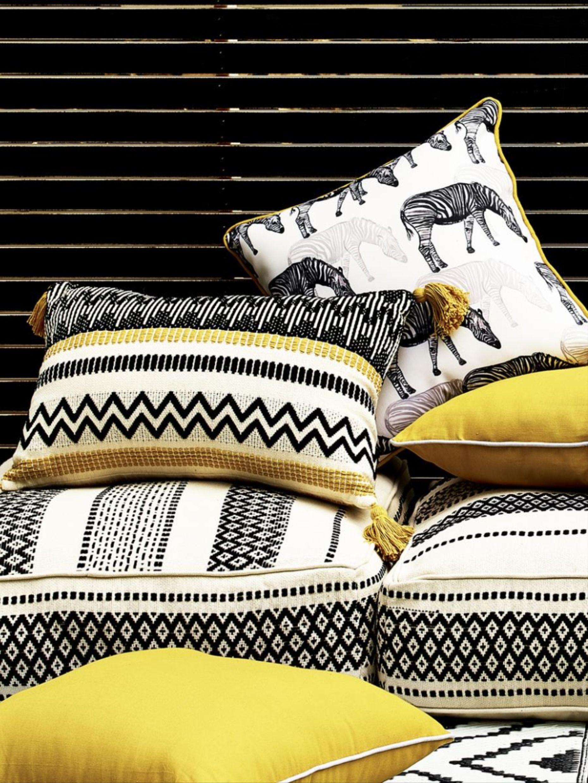 Modern Monochrome Garden Cushions Garden Cushions Argos Garden Furniture Modern Monochrome