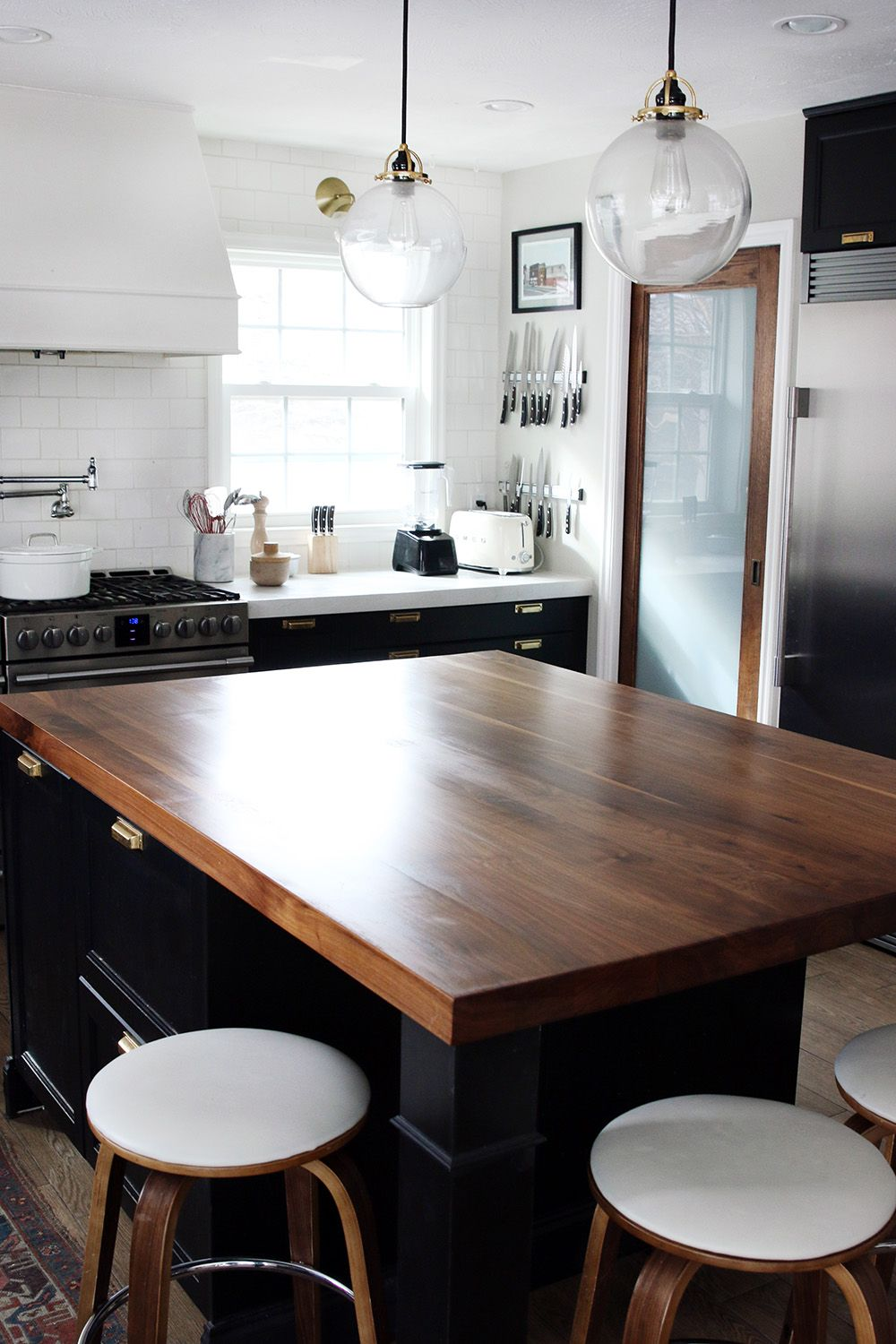 How We Refinished Our Butcher Block Countertop With Images