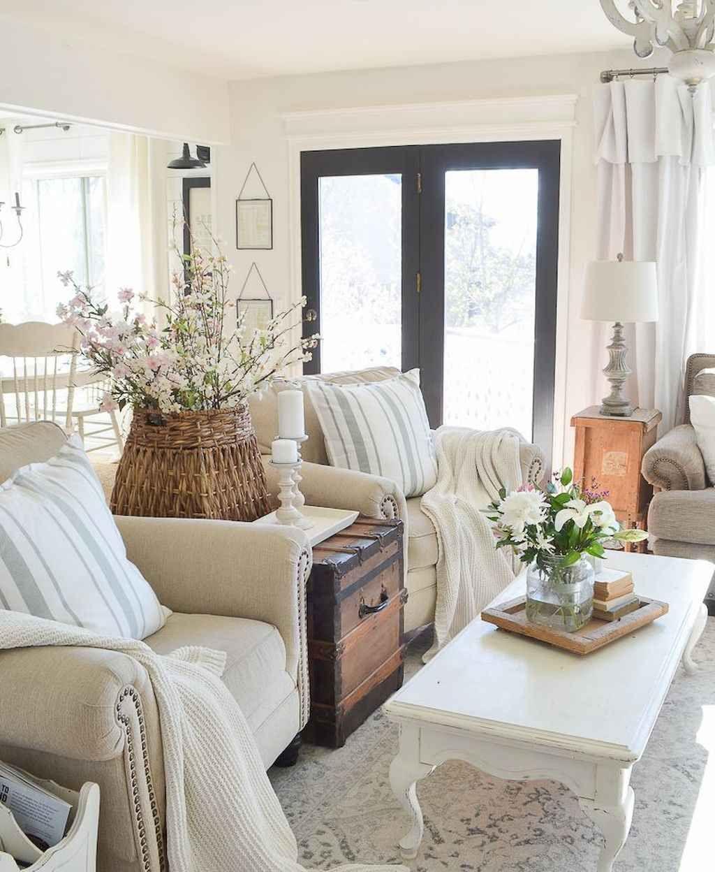 45 cozy apartment living room decorating ideas  farmhouse