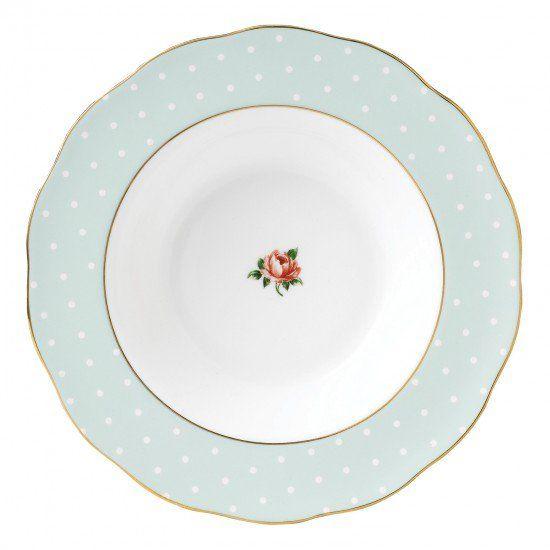Polka Rose Vintage Rim Soup Plate 24cm  sc 1 st  Pinterest & Polka Rose Vintage Rim Soup Plate 24cm | To magnet | Pinterest ...
