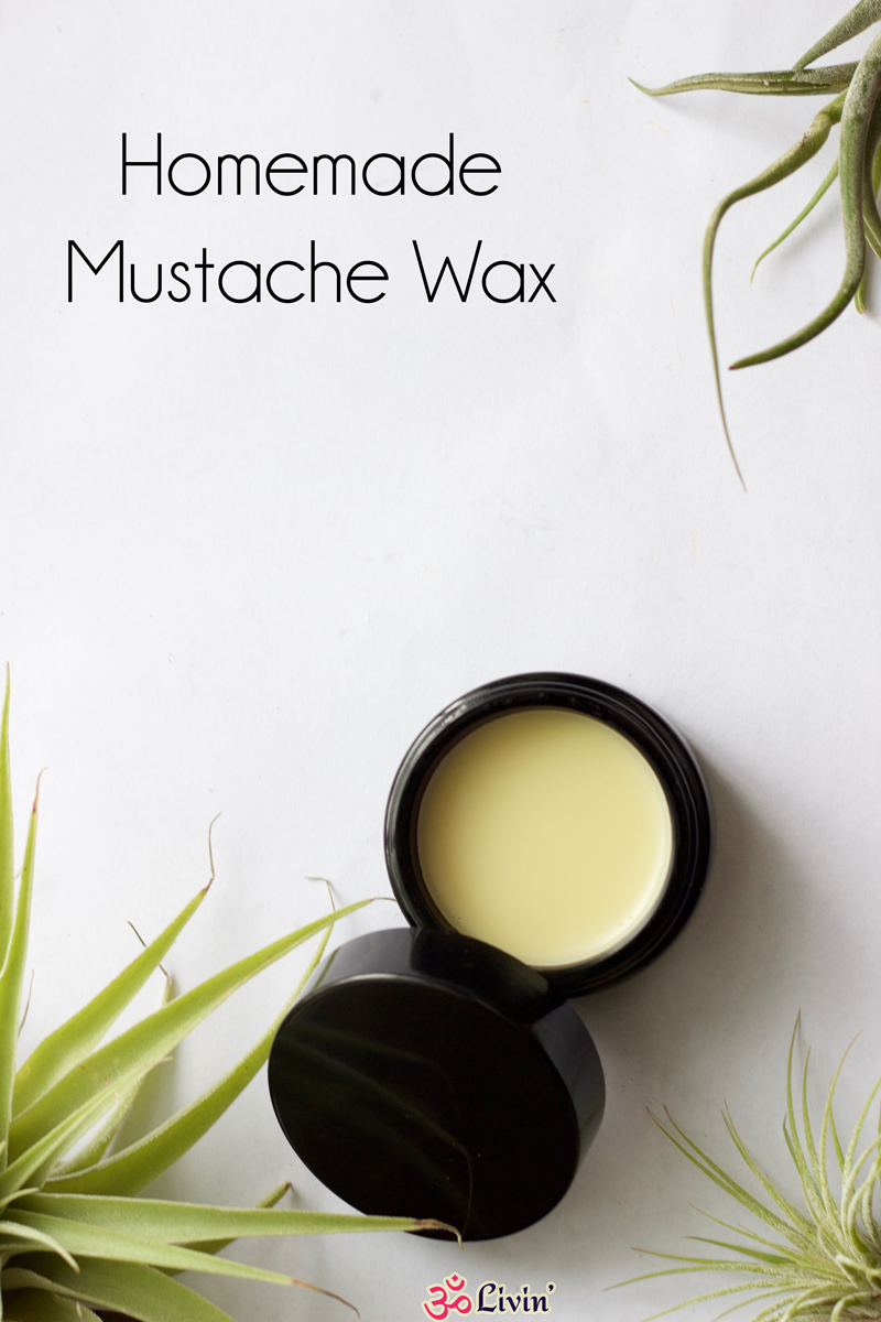 Homemade Mustache Wax Recipe – A great DIY project for father's day, valentine's day, birthdays, and even the holidays! Show the man in your life that you ...