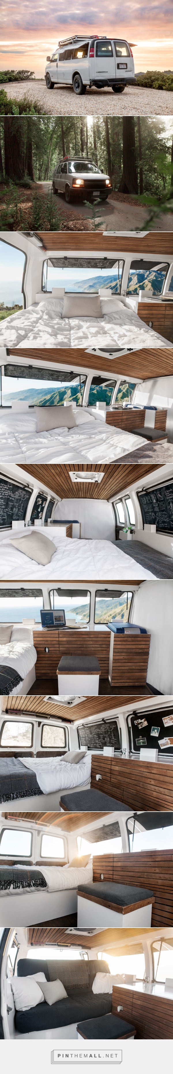 A Used Cargo Van Becomes a Mobile Studio - Design Milk - created via https://pinthemall.net