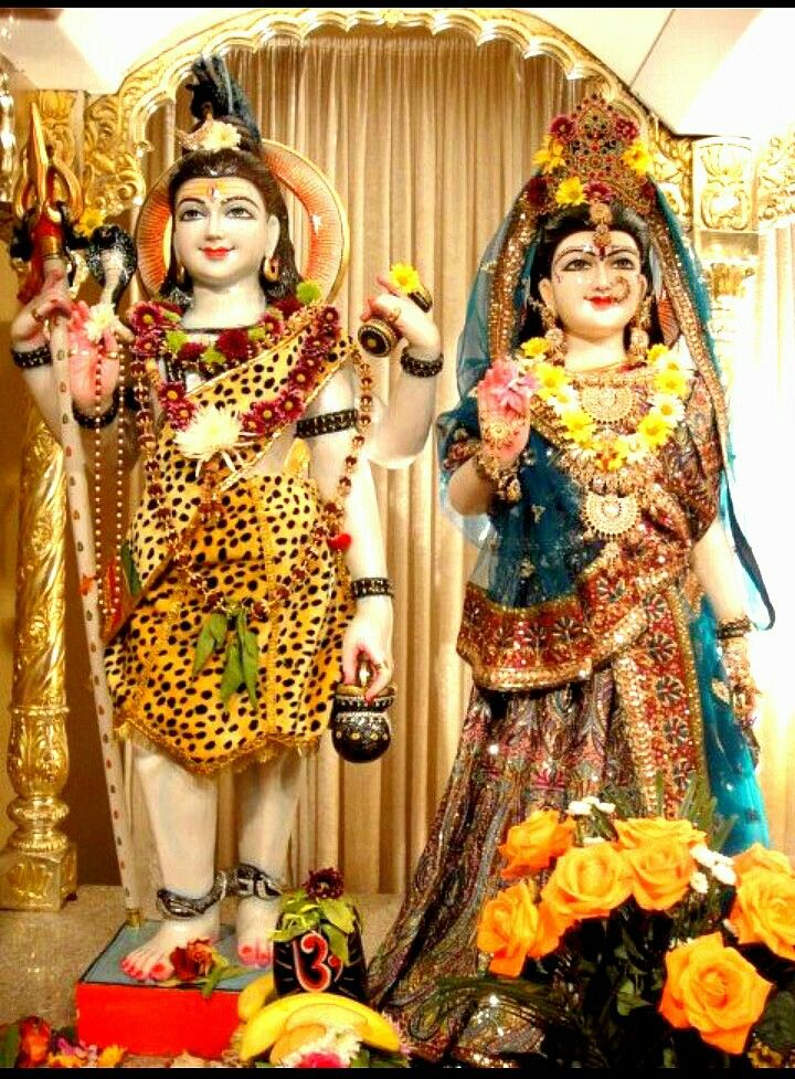 Shiv Parvati   Mahakal shiva, Lord shiva statue, Durga goddess