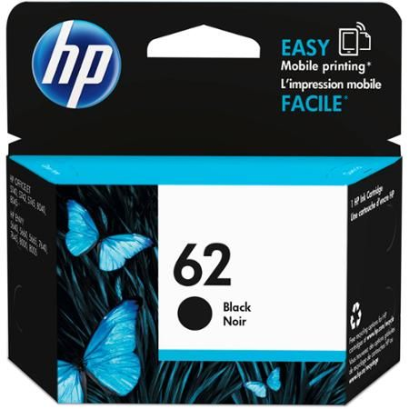 Hp 62 Black Original Ink Cartridge C2p04an Walmart Com Ink