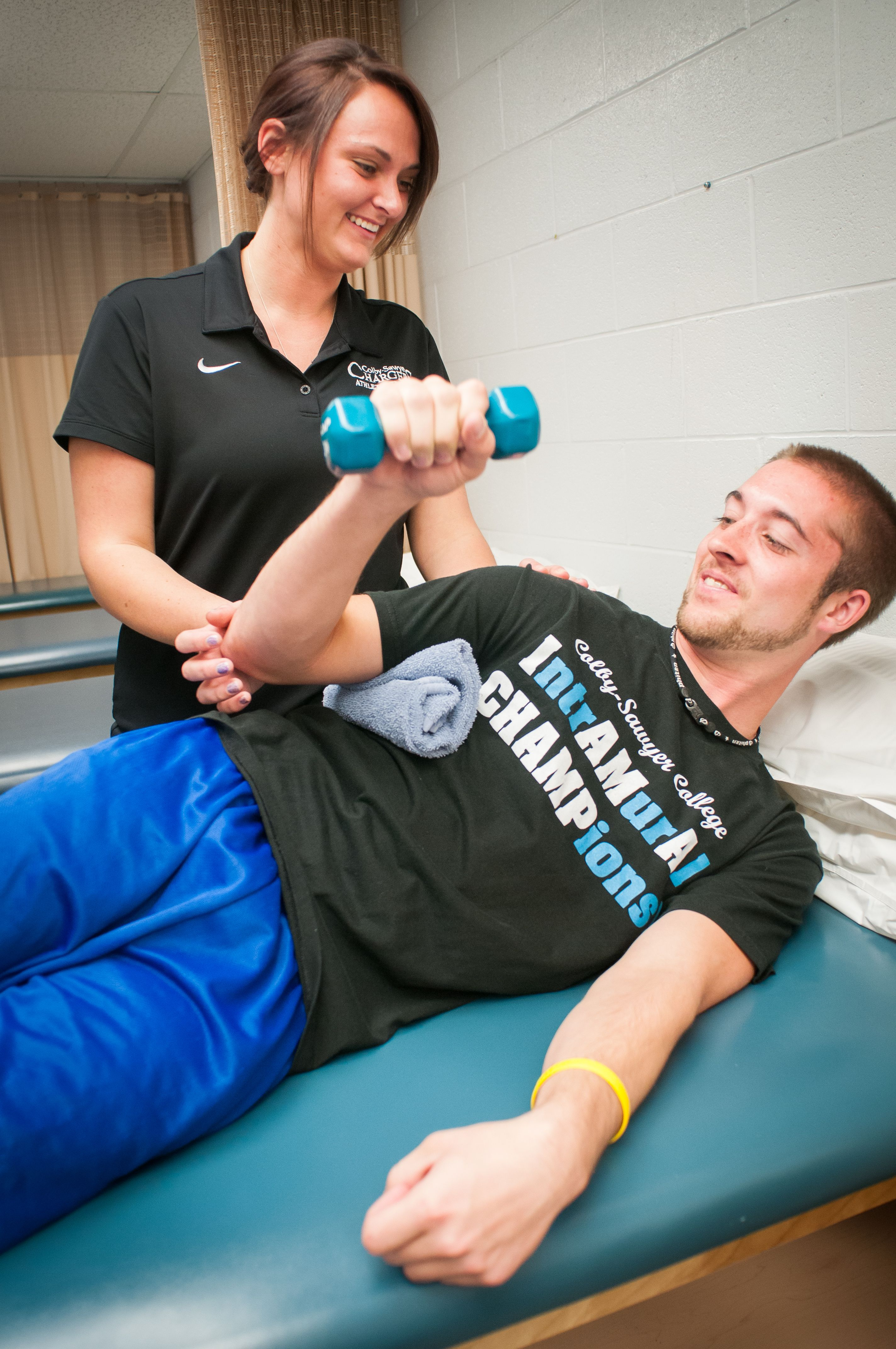 The Athletic Training Program Educates Students In The