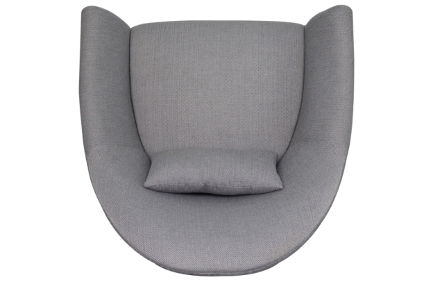 sofa chair top view. Beautiful Top Top View  KensingtonStDenisAccentChairDashPewtertop624x406 In Sofa Chair A