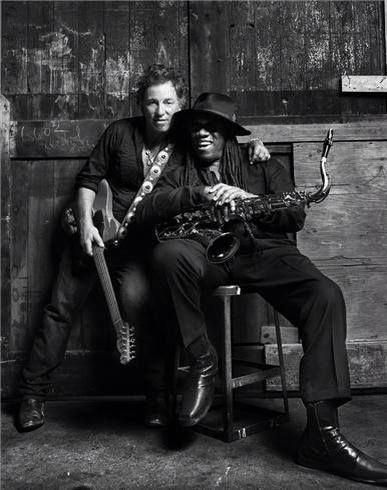 Bruce Springsteen - Scooter and the Big Man .    .        .    .    sami #brucespringsteen