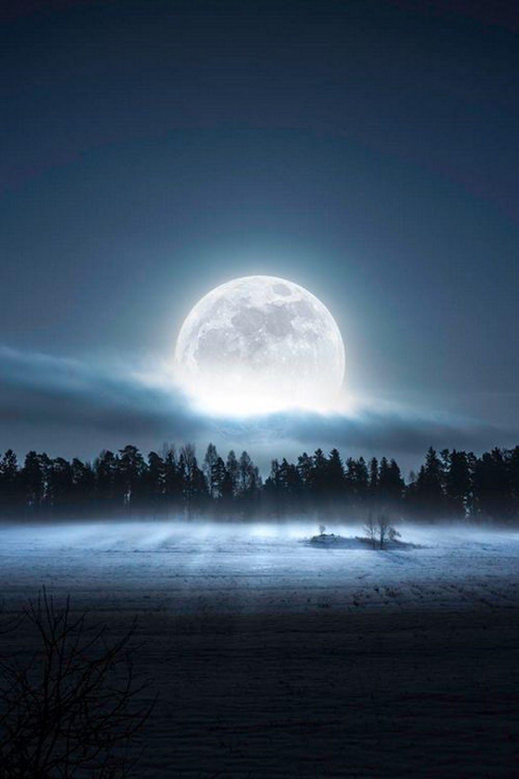 Mystical Magical Moon Beautiful Moon Moon Pictures Good Night Moon