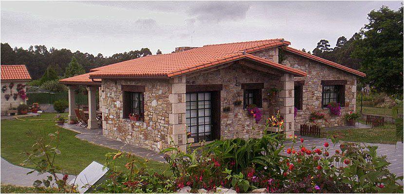 Construcciones r sticas gallegas casas r sticas de for Fachadas de casas de campo rusticas fotos