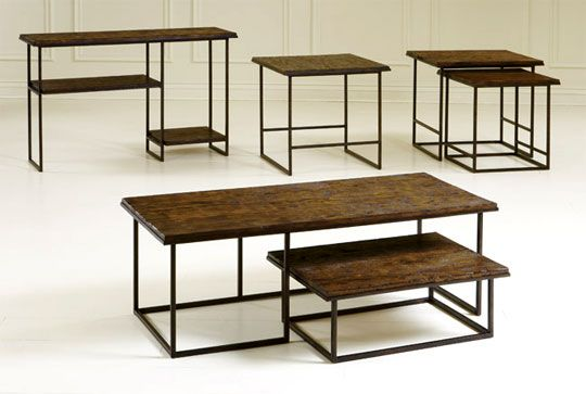 Affordable Reclaimed Wood Tables From Broyhill Furniture