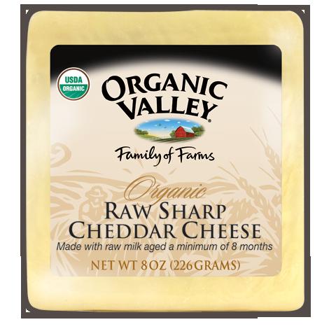 raw sharp cheddar