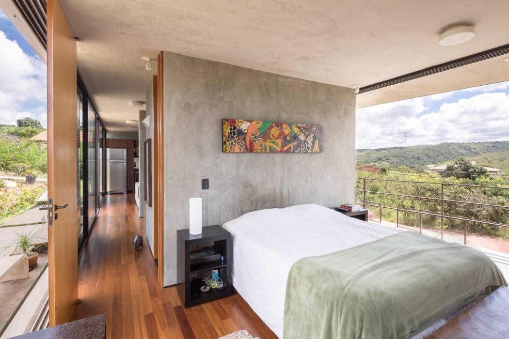 Moderne Schlafzimmer Bilder von Joana França Mario and House