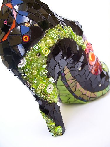 Oh. My. Yes. :: space shoe 149 by Kraken Mosaics [Eve Lynch], via Flickr