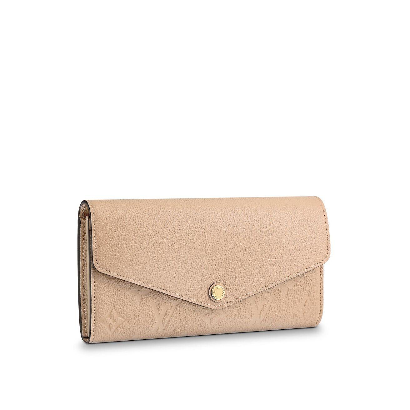 4f51042456bb View 1 - Monogram Empreinte Leather SMALL LEATHER GOODS Small Leather Goods  Sarah Wallet